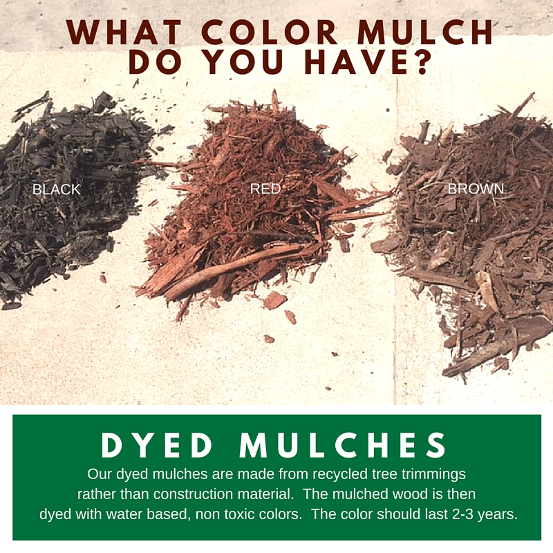 Dyed Mulches