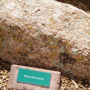Colorado Moss Boulders