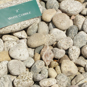 White Cobble 2″