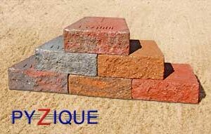 Pyzique Retaining Wall Block